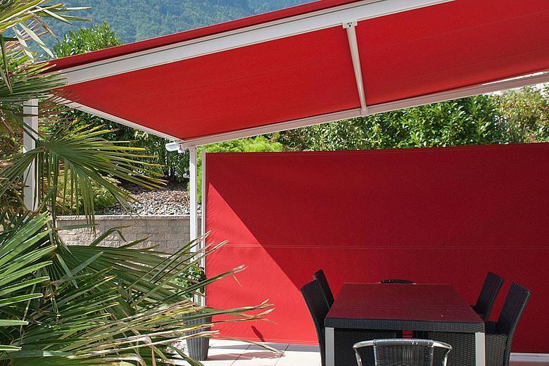Quick-Roll Flex SR6000 vielseitiger Sichtschutzrollo zur Seitenbeschattung