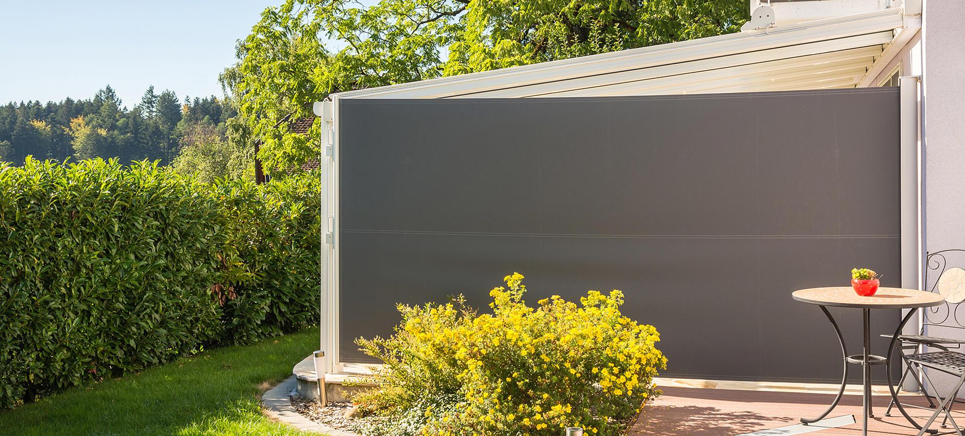 sichtschutz ausziehbar freistehend markise 6 meter breit markise x m with markise 6 meter breit. Black Bedroom Furniture Sets. Home Design Ideas