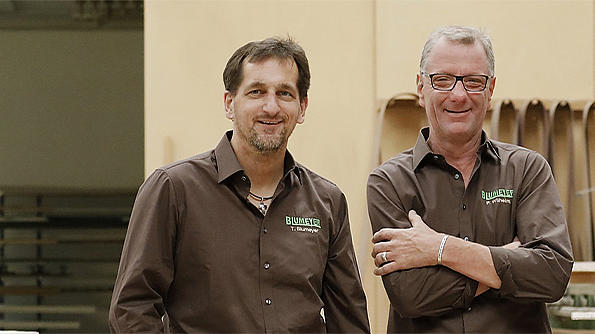 Team von KLAIBER Fachpartner Firma Blumeyer
