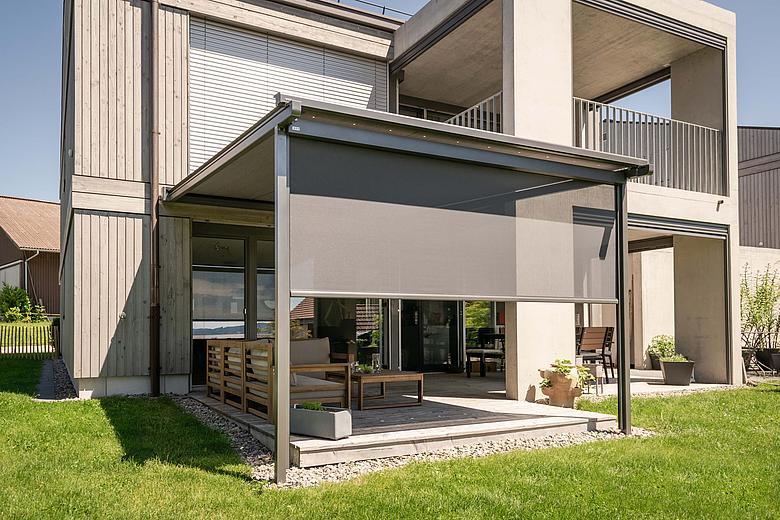 PERGOLINO P3600 flexible Pergolamarkise für Terrassengenuss bei Sonne und Regen
