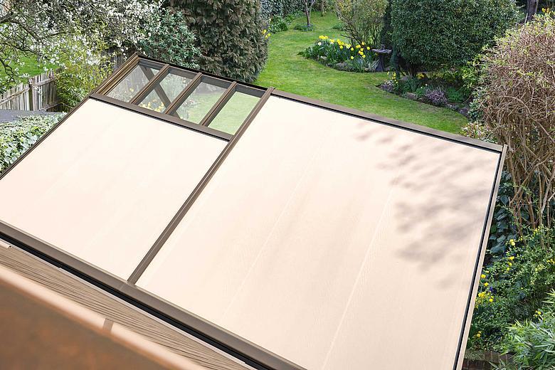 NYON PLUS GP4100 filigranes Allwetterdach für uneingeschränkten Terrassengenuss