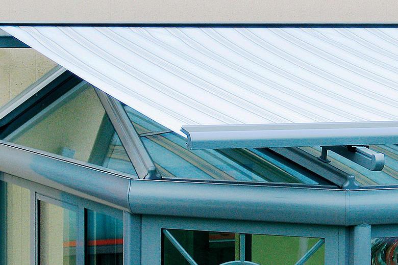 TARGA PS6000 raffinierte Wintergartenmarkise für extravagante Situationen und Sonderkonstruktionen