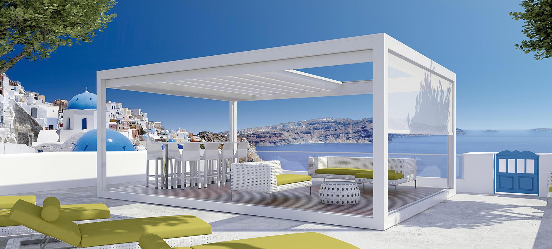 MELANO TP7100 großflächiger Pavillon mit vielfältigen Einsatzbereichen