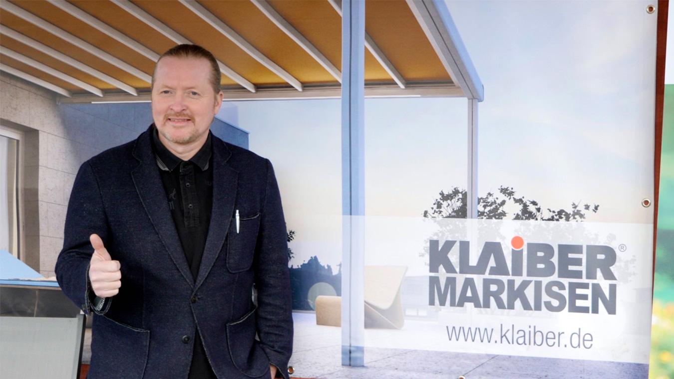 Markenbotschafter Joey Kelly Klaiber Markisen